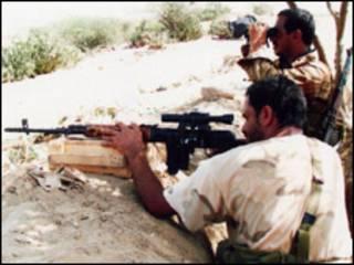 سربازان یمنی