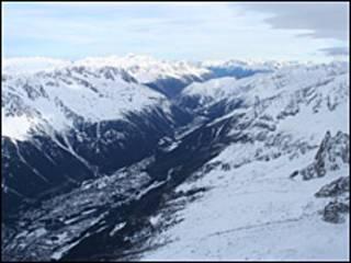Los Alpes. Foto de archivo.