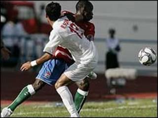 بازی ایران و گامبیا- عکس از سایت فیفا
