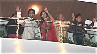 शिल्पा और राज कुंद्रा की संगीत के बाद की तस्वीर