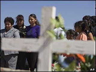 Funeral en Ciudad Juárez