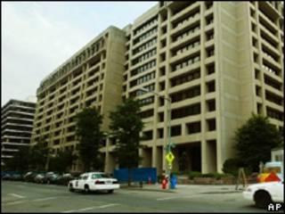Sede do FMI, em Washington