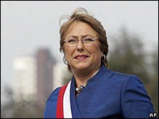 Presidenta de Chile, Michelle Bachelet