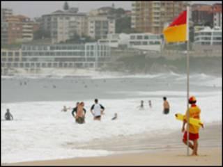 شاطىء استرالي