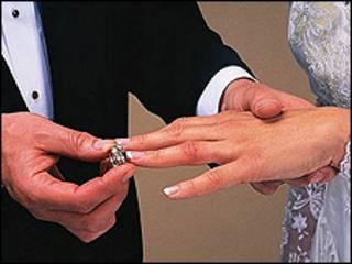Matrimonio. Foto de archivo