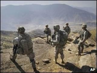 سربازان آمریکایی در افغانستان - عکس آرشیوی