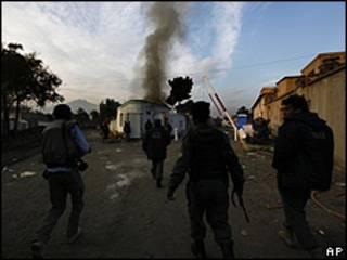 Ataque a un hostal en Kabul