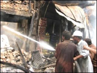 پشاور بم دھماکا