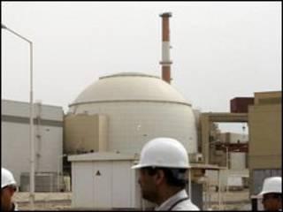 مفاعل بوشهر الايراني