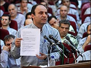 اتهم حسين رسام بالتحريض على العنف