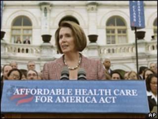 Nancy Pelosi, presendente de la Cámara de Representantes de EE.UU.