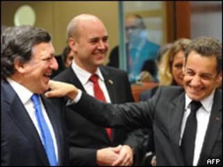 Líderes europeus