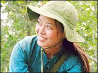 Diễn viên Minh Hương, vai bác sĩ Đặng Thùy Trâm, trong phim Đừng Đốt
