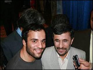 محمود احمدی نژاد و امیرطاهر حسین خان