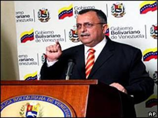 Ramón Carrizalez, vicepresidente de Venezuela. Foto cortesia: vicepresidencia.gob.ve