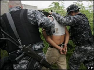 Sospechoso detenido (foto de archivo)
