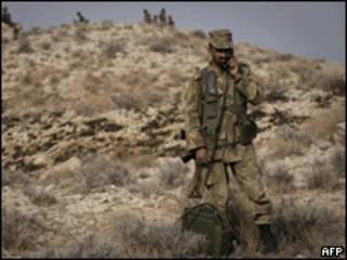 قوات باكستانية في جنوب وزيرستان