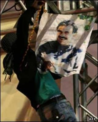 """عبدالله اوجالان، رهبر جدایی طلبان کرد """"پ ک ک"""""""