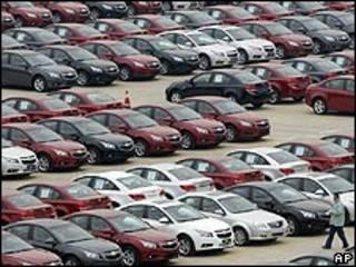 Ventas de autos Ford en China