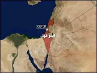 خريطة إسرائيل