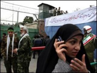 راهپیمایی سال های گذشته در برابر ساختمان سابق سفارت آمریکا در ایران