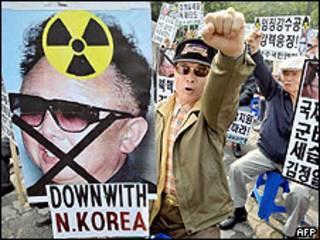 Protestas en Corea del Sur