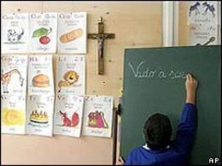 فصل داخل مدرسة في إيطاليا