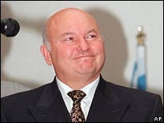 Мер Москви Юрій Лужков