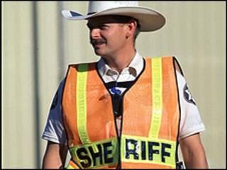 Policía estadounidense (foto de archivo)