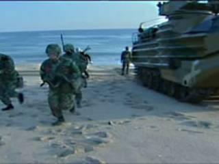 مانور نظامی در کره جنوبی-آرشیو