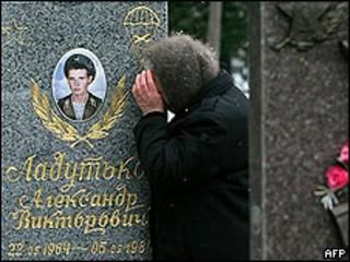 Monumento a los soldados rusos caídos en Afganistán