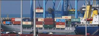 O cargueiro interceptado foi levado para o porto israelense de Ashdod
