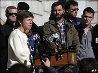 Partidarios del matrimonio gay en Maine