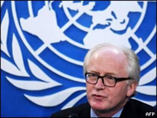 Enviado especial de la ONU A Afganistán Kai Ei
