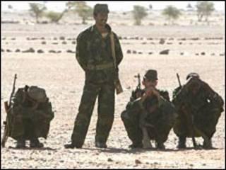جنود مغاربة