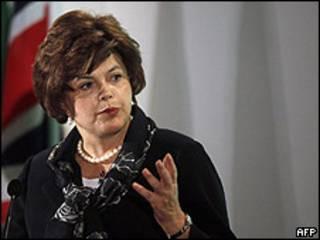 A pré-candidata do PT à Presidência, Dilma Rousseff