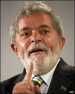 O presidente Luiz Inácio Lula da Silva. Foto AFP
