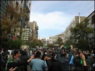 تظاهرات 13 آبان تهران - برداشت از سایت های اینترنتی