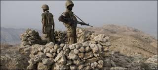Soldados de Pakistán