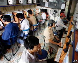 Usuários de internet no Vietnã