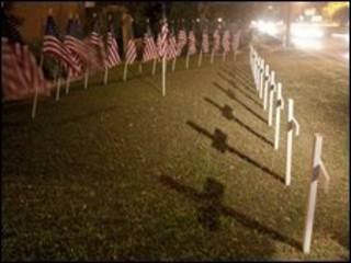 Homenagem às vítimas de Fort Hood