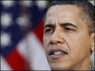 O presidente dos Estados Unidos, Barack Obama