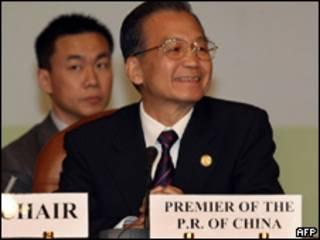 Madaxwynaha Shiinaha Wen Jiabao