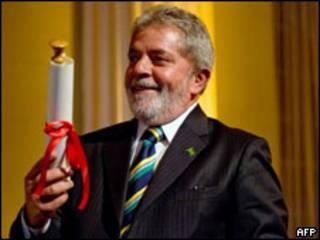 O preisdente Luiz Inácio Lula da Silva