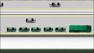 Imagem mostra como combio seria formado nas estradas (imagem: cortesia Ricardo engineering)