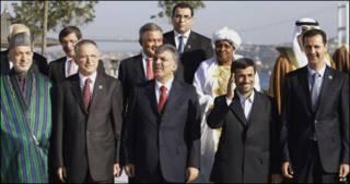 سران کشورهای اسلامی درکنفرانس استانبول