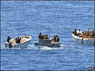 Acción contra los piratas somalíes.