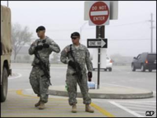 قاعدة فورت هود بتكساس