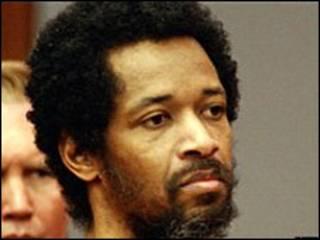 John Allen Muhammad na corte em 2004 (Foto: Arquivo)