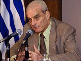 Ministro del Interior de Uruguay, Jorge Bruni